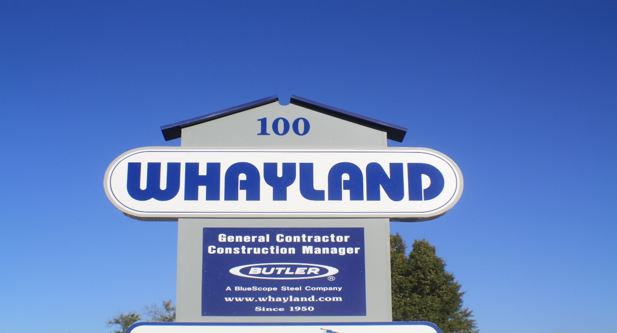Exterior of Whayland company office